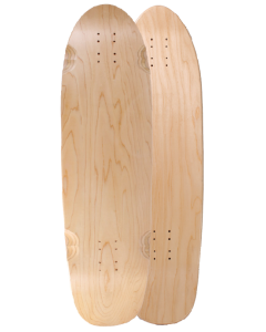 "34"" X 9.25"" KICKTAIL CAN MAPLE DECK (#BCM34)"