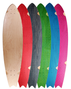 "40"" X 9.5"" SPLIT-TAIL DECKS (#S40)"