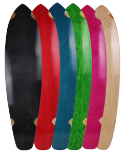 "40"" X 9.75"" KICKTAIL BLANK DECKS (#K40)"