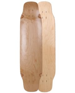 "39"" X 9.5"" DOUBLE KICKTAIL CAN MAPLE TOP MOUNT (#CMDK39)"